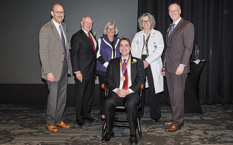 White installed as first Stokes Family Endowed Chair in Palliative Medicine and Supportive Care